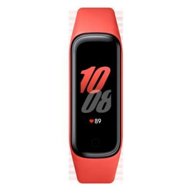 Oferta de SmartWatch Samsung Galaxy Fit 2 Roja 2.79 por 31,9€