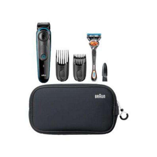 Oferta de Barbero/perfilador Braun BT3940 Negro/Azul por 39,6€