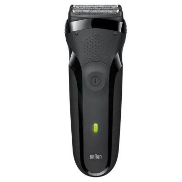 Oferta de Afeitadora Facial Braun Cuidado personal Serie 3 300S Negro por 43,4€
