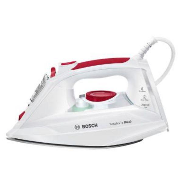 Oferta de Plancha Bosch TDA302801W Blanco por 43,3€