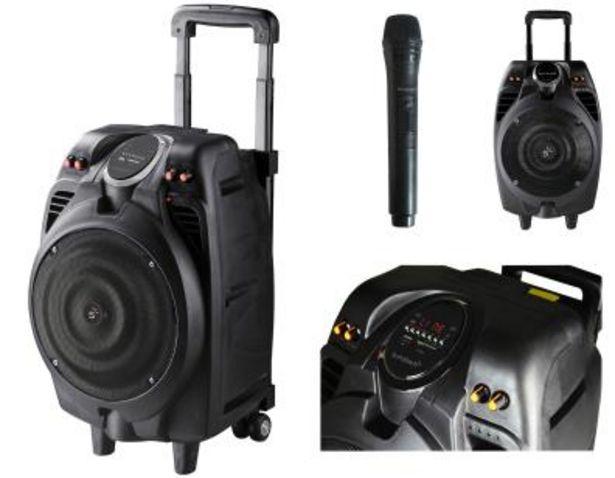 Oferta de Altavoz Sunstech MASSIVE-S10BK Bluetooth por 119€