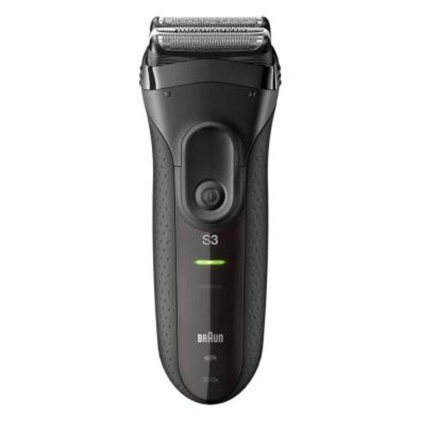 Oferta de Afeitadora Facial Braun 3020s Serie 3 ProSkin Blanca/Negra por 66,9€