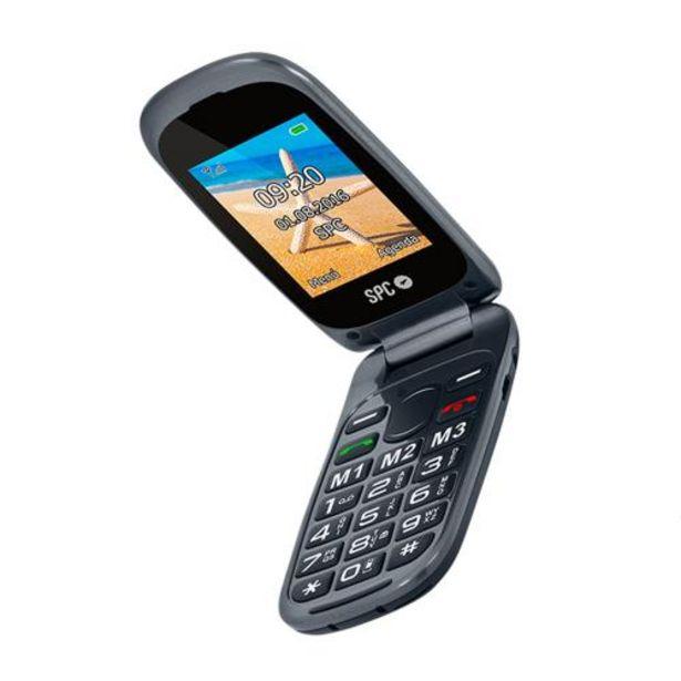Oferta de Teléfono móvil SPC 2304N Negro por 49,9€