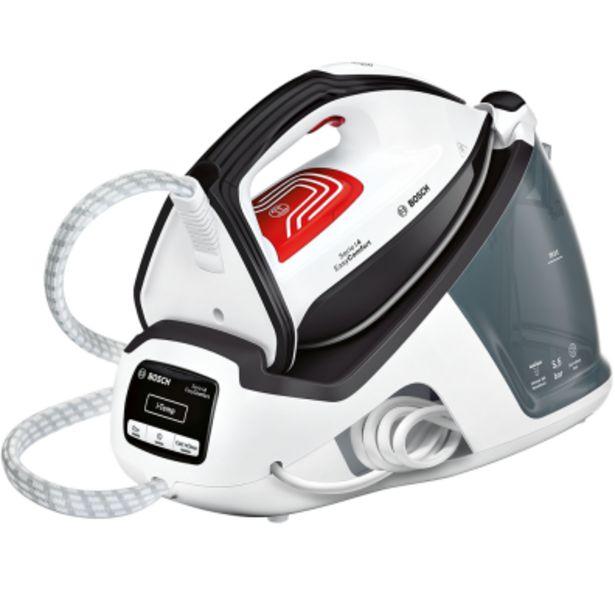 Oferta de Centro planchado Bosch TDS4070 Blanco/Negro por 139€