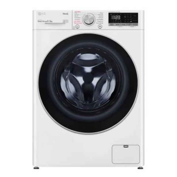 Oferta de Lava-secadora LG F4DN4008S1W A por 591€
