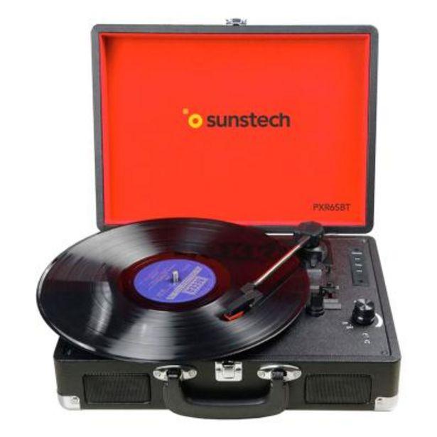 Oferta de Sistema de audio Sunstech PXR6SBTBK por 74,8€
