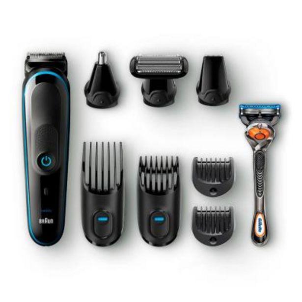 Oferta de Perfilador/Barbero Braun MGK 3980 Negro por 60€