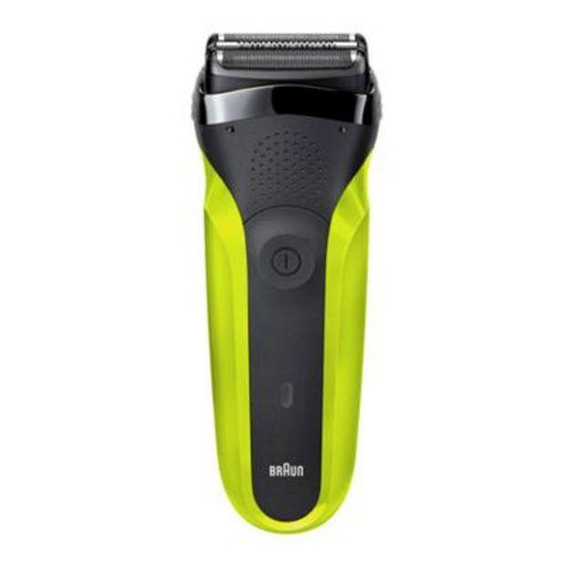 Oferta de Afeitadora Facial Braun Cuidado personal 300BT GREEN BOX Verde, Negro por 55,8€