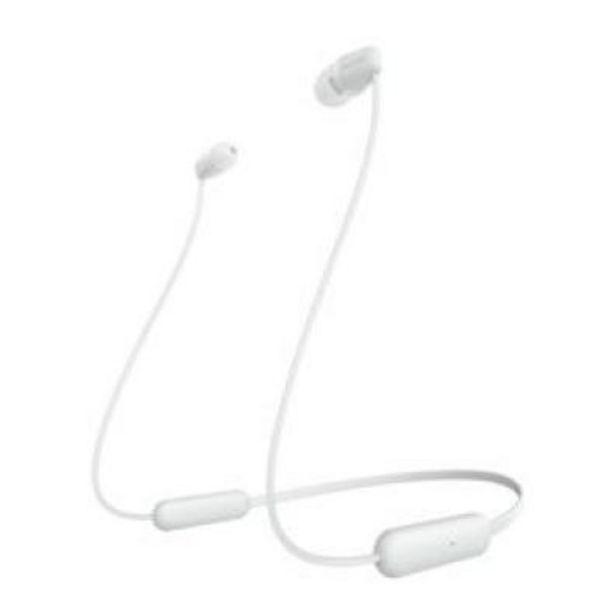 Oferta de Auriculares Sony WIC200W.CE7 Blanco mate por 29,4€
