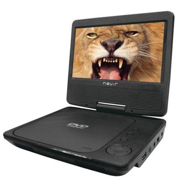 Oferta de DVD Portátil Nevir NVR-2790DVD-PCU 7 por 54,9€