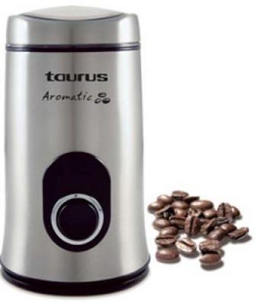 Oferta de Molinillo de café Taurus Aromatic Acero Inox por 26,3€