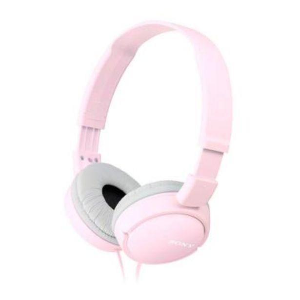 Oferta de Auriculares Sony MDRZX110APP Rosa por 13,8€