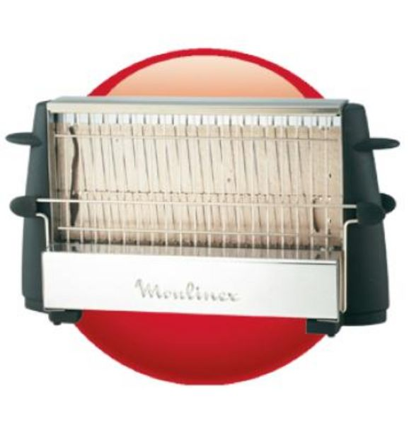 Oferta de Tostador Moulinex Multipan On/Off 760W por 23,7€