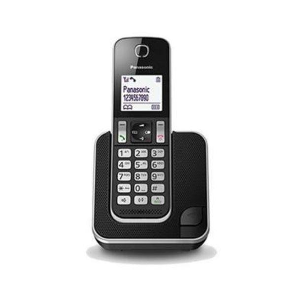 Oferta de Teléfono Inalámbrico Panasonic KX-TGD310SPB 1 por 32,9€