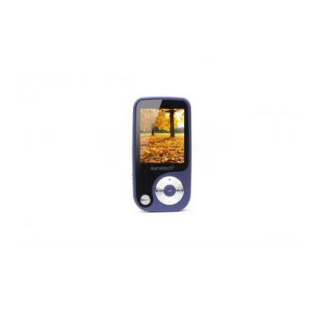 Oferta de Reproductor MP4 Sunstech THORN Azul por 22,6€