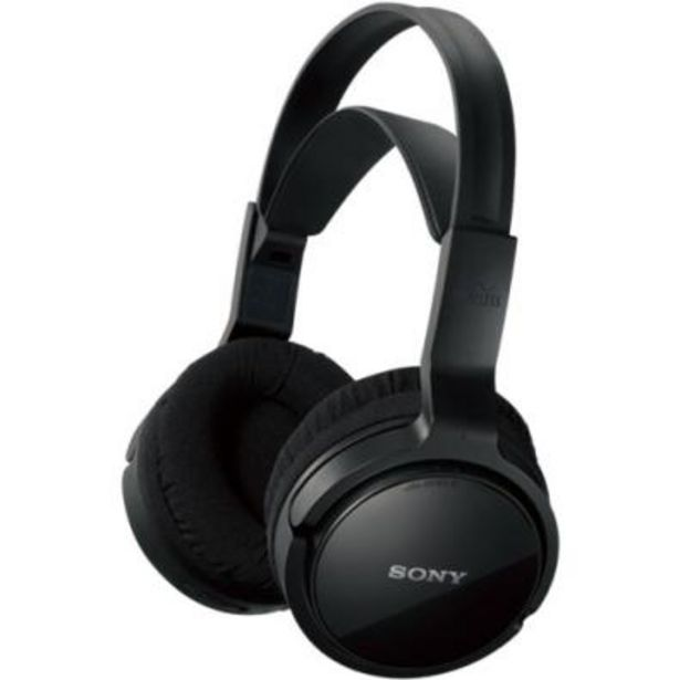 Oferta de Auriculares inalámbricos Sony MDR-RF811RK por 63,9€