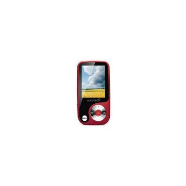 Oferta de Reproductor MP4 Sunstech THORN Rojo por 22,6€