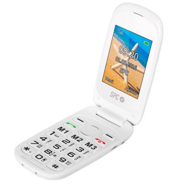 Oferta de Teléfono móvil SPC 2304B Blanco por 49,9€