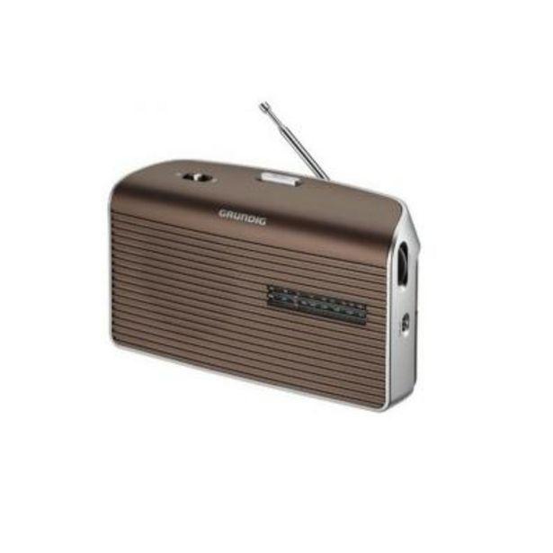 Oferta de Radio Transistor Grundig MUSIC 60 GRN1550 MOCCA MARRON por 25,6€