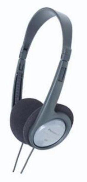 Oferta de Auriculares Panasonic RP-HT090E-H Gris por 12,2€