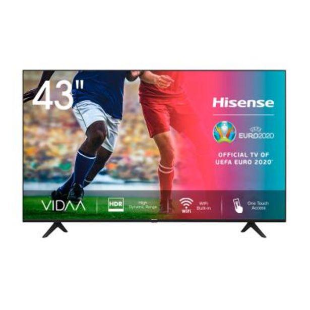 Oferta de Televisor Hisense 43A7100F Ultra HD 4K por 315€