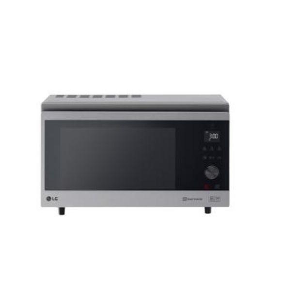Oferta de Microondas LG MJ3965ACS 1100W por 378€