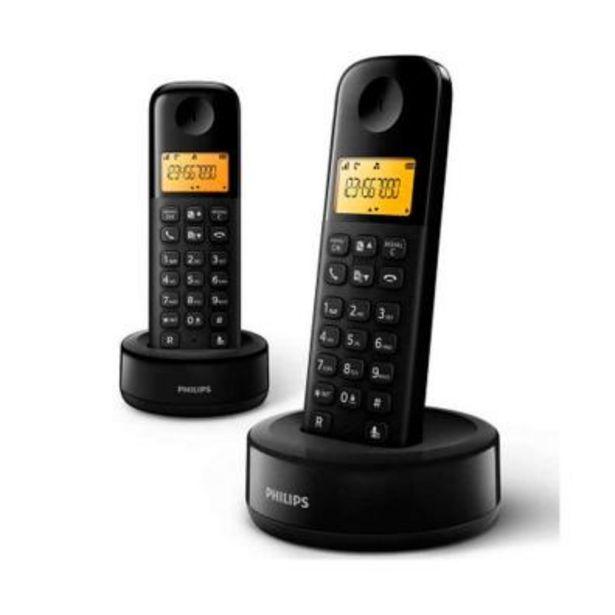Oferta de Teléfono Philips D1602B/34 1 por 34,4€