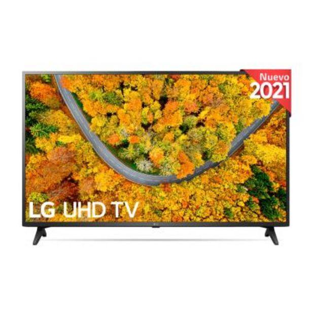 Oferta de Televisor LG 75UP75006LC Ultra HD 4K por 899€