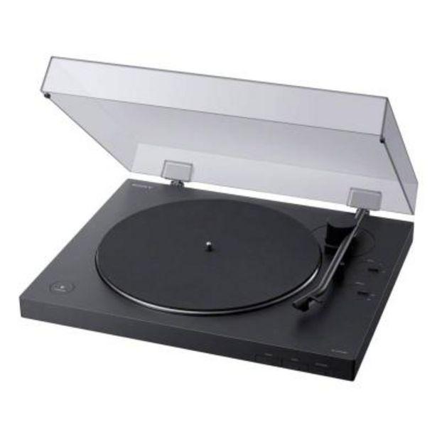 Oferta de Sistema de audio Sony PSLX310BT.CEL Negro por 186€