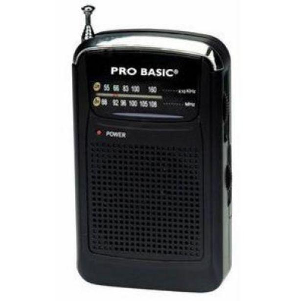 Oferta de Radio Transistor Lauson RA114 Black por 5,9€
