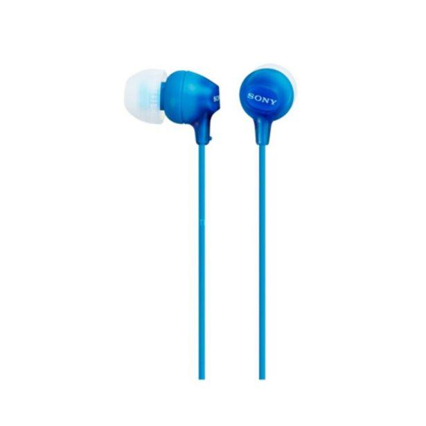 Oferta de Auricular Sony MDR-EX15APLI por 7,9€