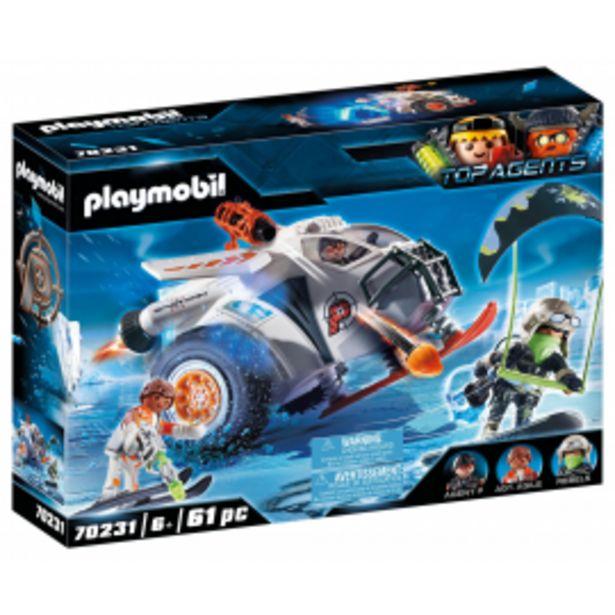 Oferta de Playmobil spy team... por 23,95€