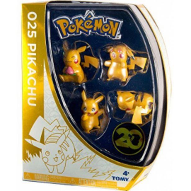 Oferta de Pokemon 4 figuras 20... por 19,95€