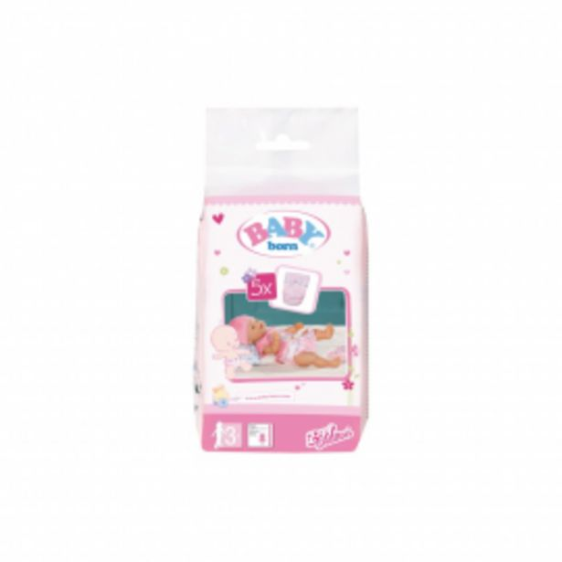 Oferta de Baby born pack pañales por 2,95€