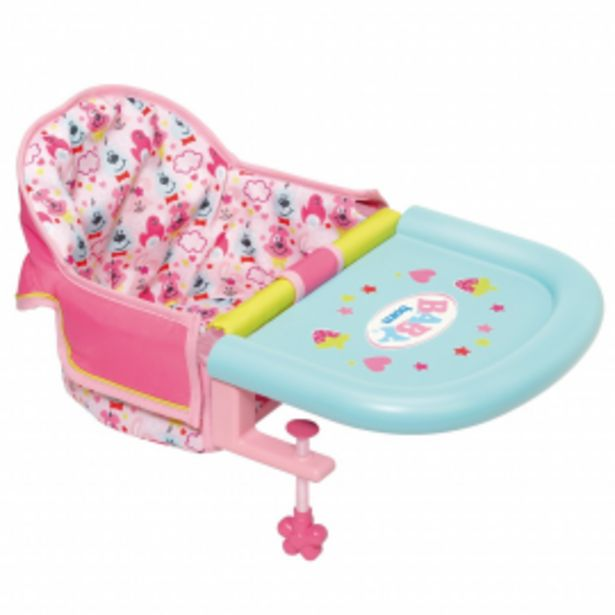 Oferta de Baby born trona portatil por 14,95€