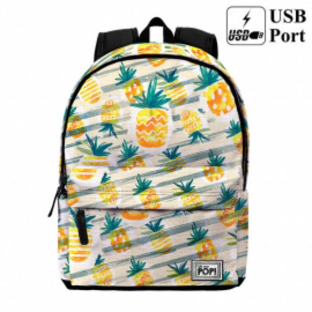 Oferta de Mochila free time ananas por 19,95€