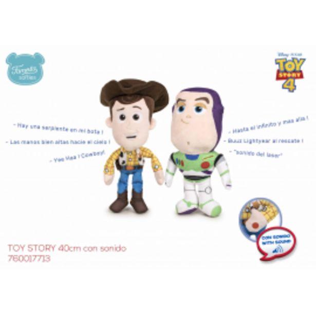 Oferta de Toy story 4 peluche 40... por 9,95€