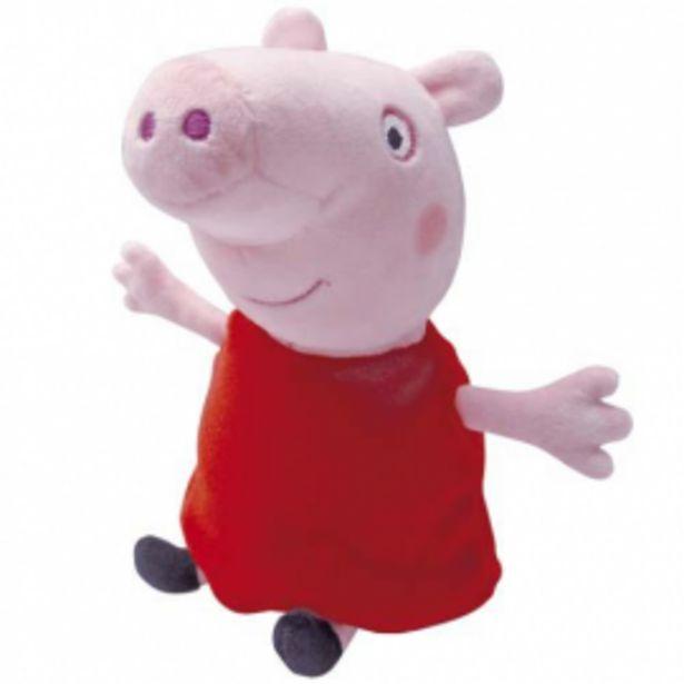 Oferta de Peppa pig peluche 23 cms por 4,95€