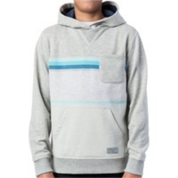 Oferta de YARN DYED STRIPE HOODED FLEECE por 29,99€