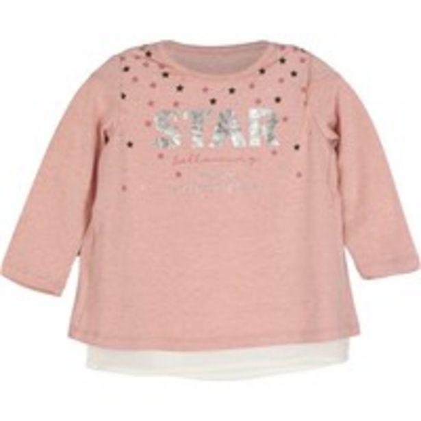 Oferta de Camiseta girl little star por 10,49€