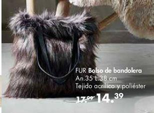 Oferta de Bolso bandolera por 14,39€