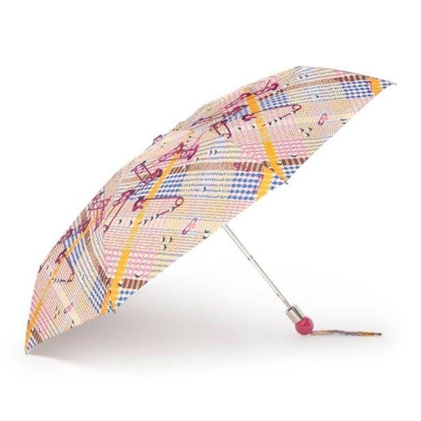 Oferta de Paraguas plegable Tile Exene beige por 29€