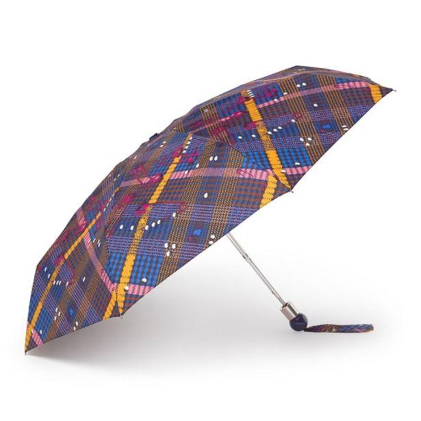Oferta de Paraguas plegable Tile Exene azul por 29€