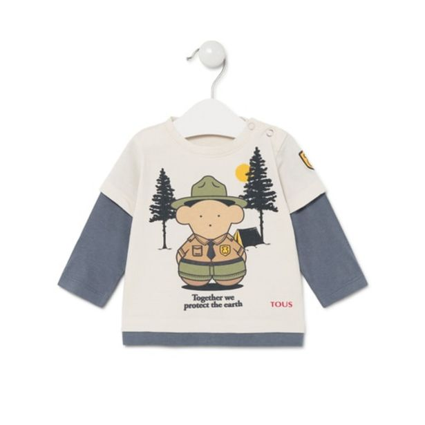 "Oferta de Camiseta ""Together we protect the earth"" Casual Cr por 30€"