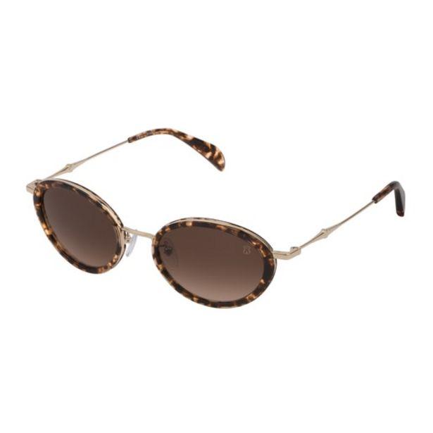 Oferta de Gafas de sol Metal Bear de Metal y Acetato en color marrón por 79€