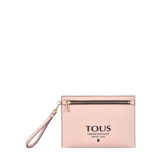 Oferta de Bolso clutch TOUS Essential multi rosa por 41€