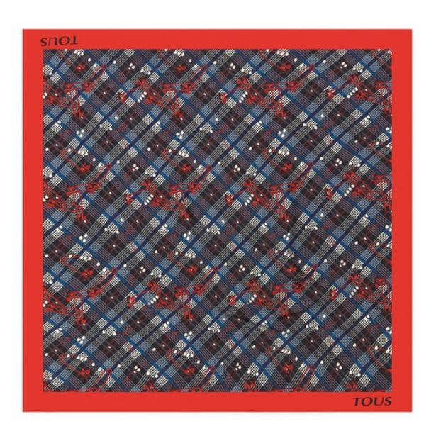 Oferta de Pañuelo TOUS Tile Corine rojo por 24€
