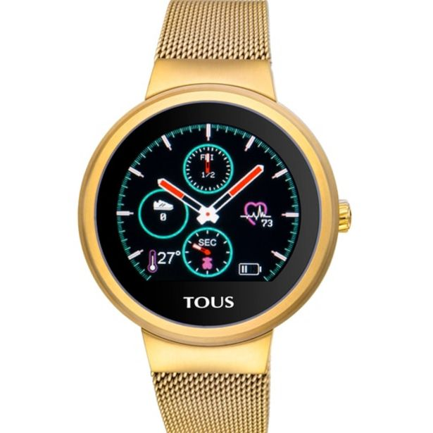 Oferta de Reloj activity Rond Touch de acero IP dorado por 199€