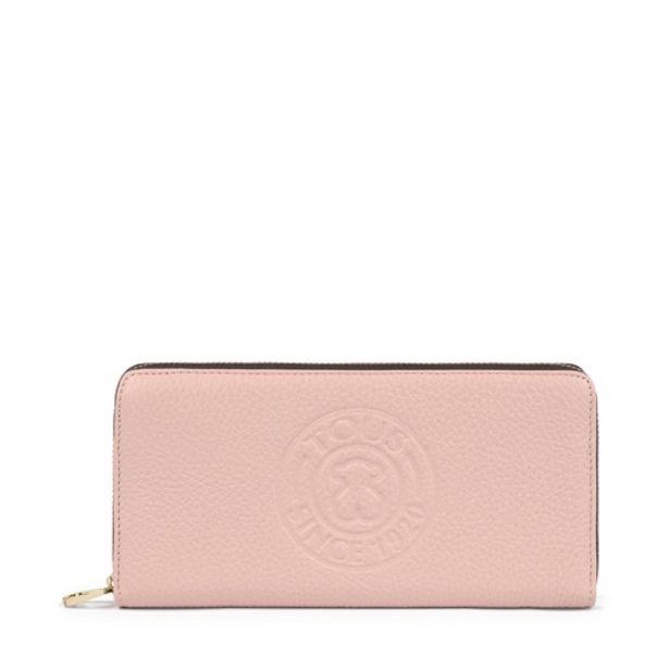 Oferta de Billetera mediana New Leissa de rosa claro por 69€