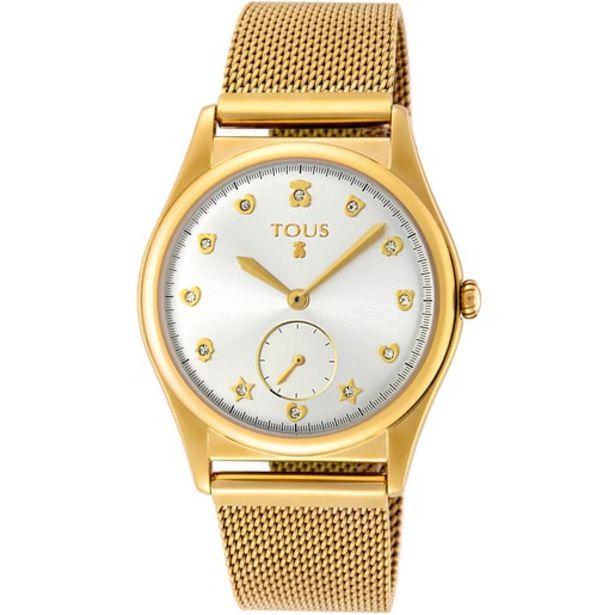Oferta de Reloj Free de acero IP dorado por 135€